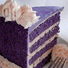 Recipe Picture:Purple Yam Cake