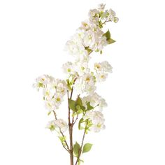 Faux Cherry Blossom Branch - Pale Pink