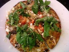 Sol's herb pizza
