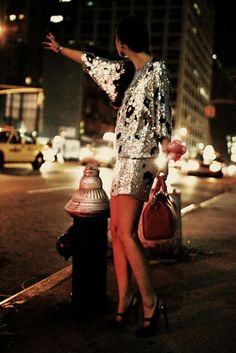 Taxi for #MondaySequins