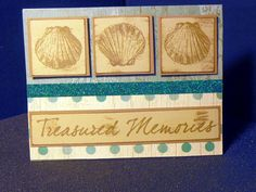 Card created using Treasured Friendship stamp set from CTMH (C1594)