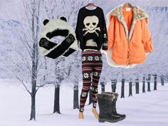 """Teen F Snow"" by wanlwanf on Polyvore"