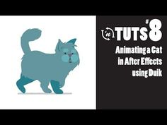 TnT Tuts - #8 - Animating a Cat in After Effects using Duik - YouTube
