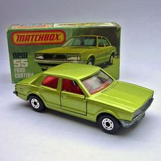Matchbox No.55 Ford Cortina (1979)