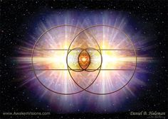 """The Vesica Pisces appears to be more than the womb of mathematics. It is said to be the """"holder of beauty"""" and also the birthplace of light."""