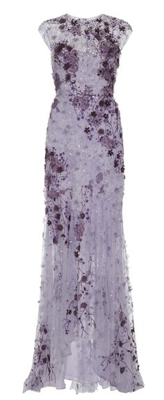Lace Embroidered Gown