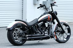 harley low rider custom rear fender | 2010 HARLEY DAVIDSON FAT BOY LOW 240mm CUSTOM