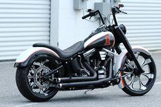 harley low rider custom rear fender | 2010 HARLEY DAVIDSON FAT BOY LOW 240mm CUSTOM