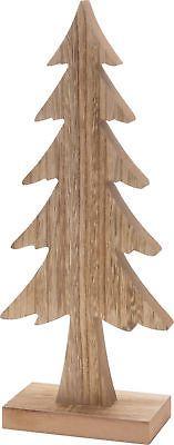 CHICCIE Tannenbaum aus Holz - 37cm - Deko Weihnachten Tanne