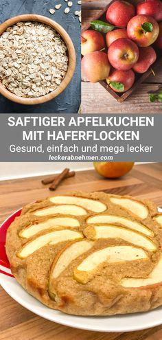Potluck Desserts, Healthy Dessert Recipes, Easy Desserts, Healthy Snacks, Healthy Eating, Quick Apple Pie Recipe, Apple Pie Recipes, Oatmeal Recipes, Food Inspiration