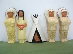 Native American Dolls American Indian Dolls by FindingMaineVintage