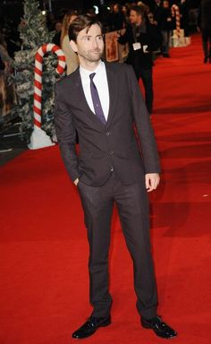 David Tennant: Nothing can top a sweet, funny man in a well-tailored suit!