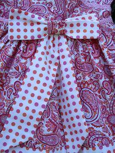 Pink Paisley Kimono Style Dress  size 3T by gumdroptree on Etsy, $26.00