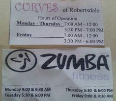 Curves of Robertsdale with Zumba