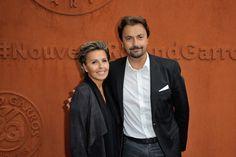 Henri Leconte et Maria Dowlatshahi