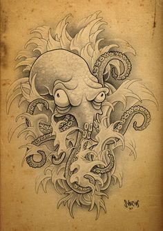 """These are the related keywords for the term """"Octopus Tattoos"""". Description from ., - These are the related keywords for the term """"Octopus Tattoos"""". Description from …, - Octopus Tattoo Design, Octopus Tattoos, Tattoo Designs, Tattoo Ideas, Foot Tattoos, Small Tattoos, Tattoos For Guys, Sleeve Tattoos, O Tattoo"""