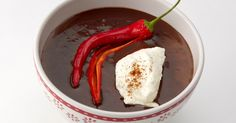 no Chocolate Chili, Hot Chocolate Recipes, Marshmallows, Food Inspiration, Vegetarian Recipes, Ice Cream, Favorite Recipes, Sweets, Stuffed Peppers