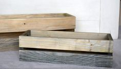 Small Wooden Crate Centerpiece Rustic Wooden Crate Pint