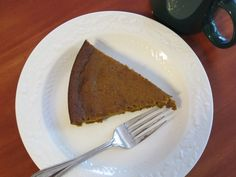 Pumpkin pie without the crust, and every bit as delicious!