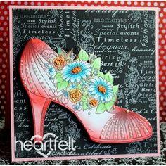 Heartfelt Creations All Glammed Up Shoe 2