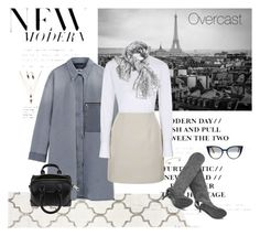 """""""Overcast"""" by jadta ❤ liked on Polyvore featuring MM6 Maison Margiela, Topshop, Givenchy, Forever 21, Michael Kors, Fendi, women's clothing, women's fashion, women and female"""