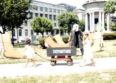 departure, big foot ballet on courthouse square, Scranton. adapted for Nuclear Non-Proliferation statement
