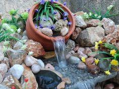11 Εντυπωσιακά συντριβάνια για τον κήπο σου! | exypnes-idees.gr Garden Ideas, Gardening, Bird, Outdoor Decor, Plants, Home Decor, Decoration Home, Room Decor, Lawn And Garden