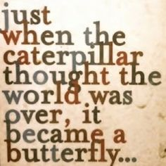 this is me, this is why my wedding theme was butterflies and i have them tattooed on me :)