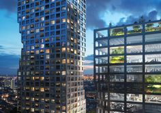 MVRDV Wins Competition for Dual Tower Mixed-Use Complex in Rotterdam