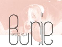 Free Font Of The Day : Bonie