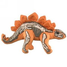 """Skelesaurs Stegosaurus by Wildlife Artists - SKL-1705ST  This is the perfect gift for that special dinosaur lover. Its not only playful but very educational as well. It brings a little piece of fun learning into the home as well as adding science. 10.5"""""""