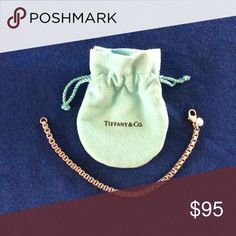Tiffany Venetian chain bracelet Excellent condition with original pouch Tiffany & Co. Jewelry Bracelets