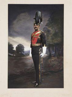 Officer of the (Royal Irish) Lancers British Army Uniform, British Uniforms, Men In Uniform, Military Art, Military History, Military Uniforms, Bengal Lancer, Crimean War, King And Country