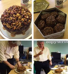 Today was the second semi-final of The Great CFA Bake Off which saw designers Tilly and Justin go head to head. Congratulations to Justin whose scrumptious toffee and nut cake secured him a place in the CFA Bake Off final!!