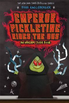 Emperor Pickletine Rides the Bus (Origami Yoda) by Tom Angleberger,http://www.amazon.com/dp/141970933X/ref=cm_sw_r_pi_dp_UX9Dtb1GM7J55ZAB