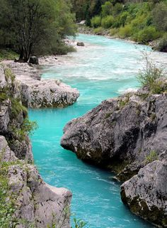 Soca River, Triglav National Park, Slovenia