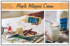 Maple Whipped Cream #healthychildhealthyworld #HealthyRecipesHungryKids