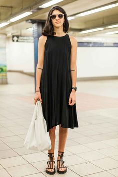 NYC Subway Street Style Pictures