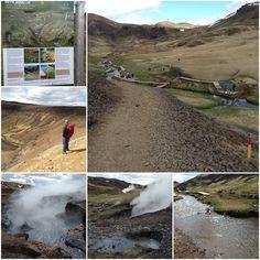 Iceland. Reykjadalur. Geothermal.