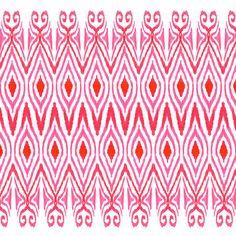 Ikat Watermelon Art Print + free shipping