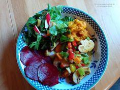 renate goes vegan: Wokgemüse mit Champignons