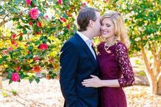 Elegant Outdoor Engagement Session | Boone Hall Historic Charleston Engagement Session by Charleston wedding photographer Dana Cubbage Weddings