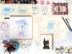 Selecionamos algumas dicas de coisas que você deve levar em consideração na hora de escolher seu sketchbook-amigo, para ilustrar, treinar,…