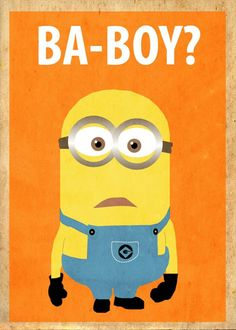Despicable Me Minions are so cute.