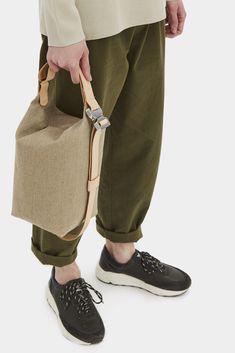 Transfer Bag Raw Natural