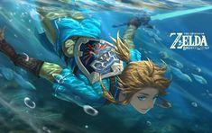 🔹The Legend of Zelda: Breath of The Wild🔹 The Legend Of Zelda, Legend Of Zelda Breath, Ben Drowned, Zelda Video Games, Botw Zelda, Pokemon, Link Art, Otaku, Link Zelda