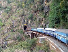 miss that train journey to Araku valley...!