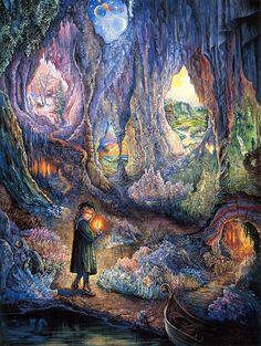"""""""Underworlds 1"""" par Josephine Wall"""