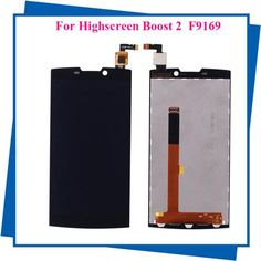 5pcs/lot For Highscreen boost 2 se FPC 9169 LCD Display Touch Screen Black Mobile Phone LCDs feel shipping  — 8564.26 руб. —