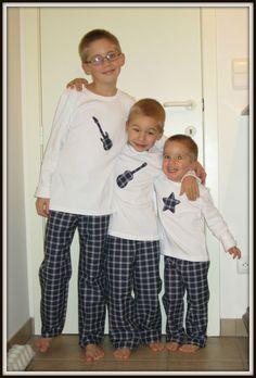 pyjamas pour les boys